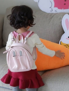 bunny backpack in brown