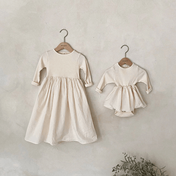 Ribbed New Knit Ruffle Tutu Romper, Cream
