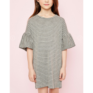 oversized stripe dress (11/12)