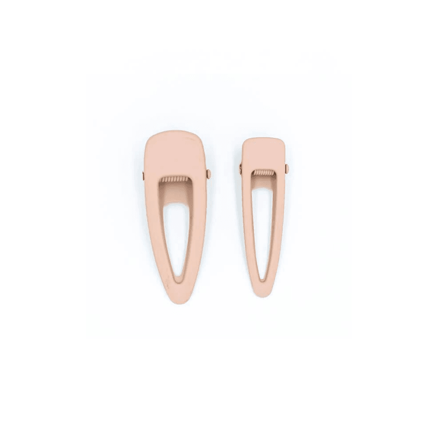 Matte Clip Set of Two - Shell