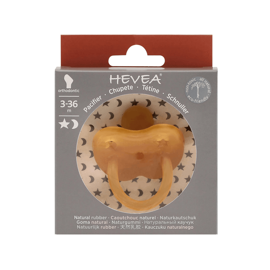 Hevea Classic Ortho Pacifier, Natural