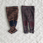 lala dan patch leggings in navy