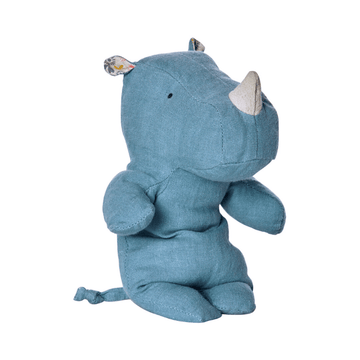 Maileg little blue rhino soft toy