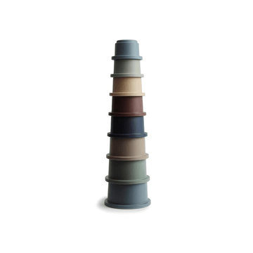 Mushie Stacking Cups Toy, Forest