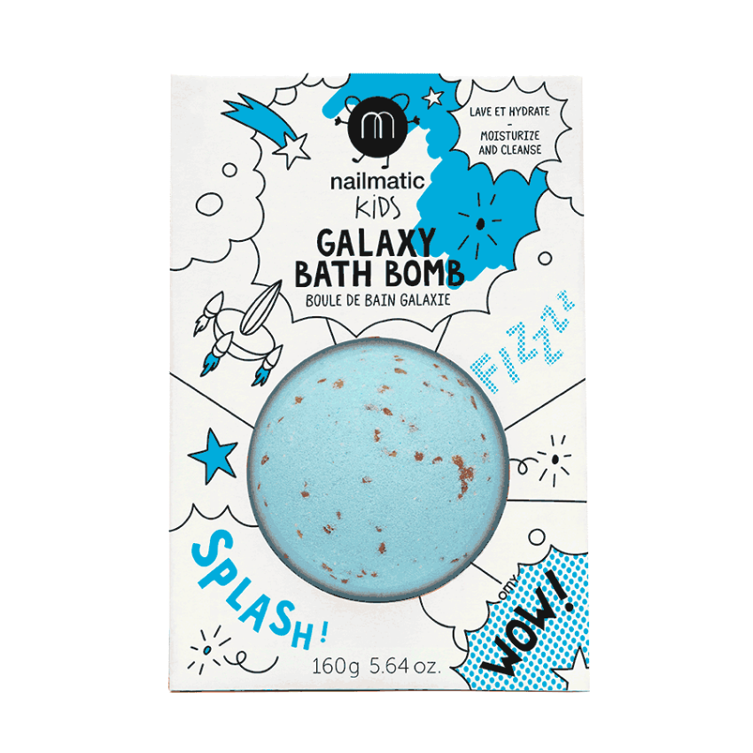 Soothing Galactic Bath Bomb, Comet Blue