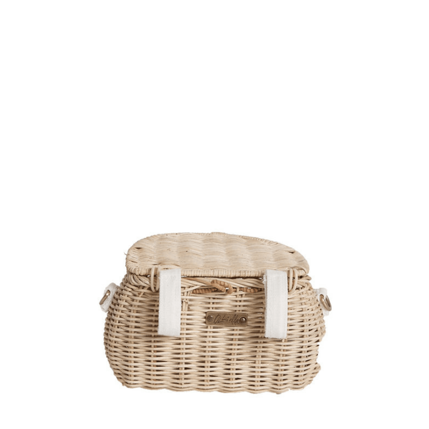 Mini Chari Bag, Straw