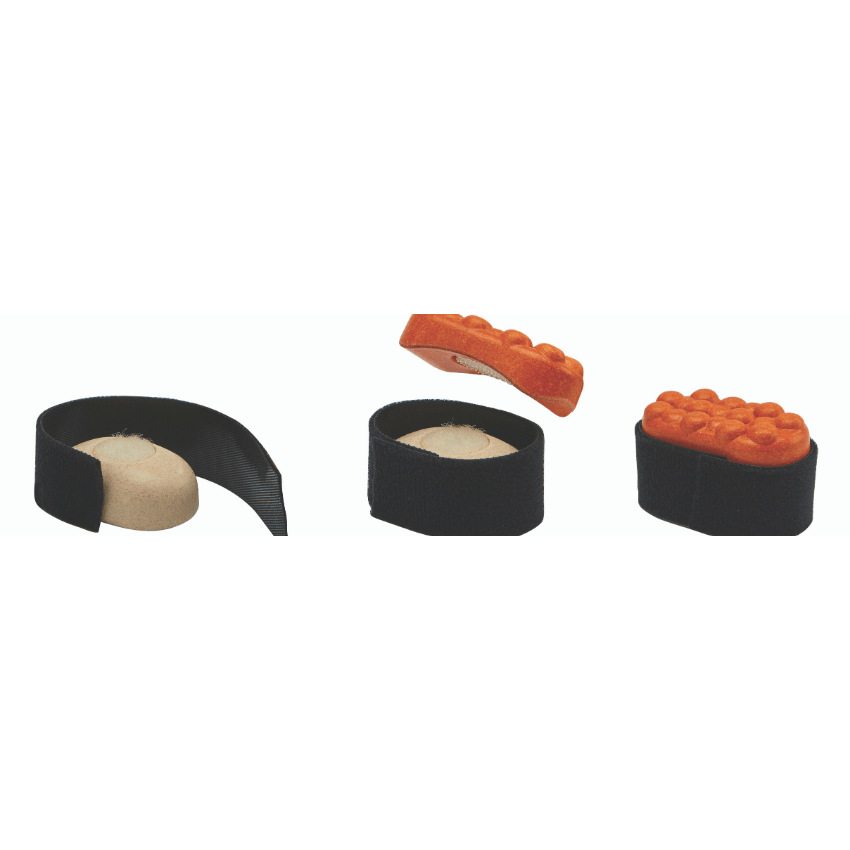Plan Toys sushi set salmon roe making it