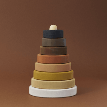 Wooden Stacking Tower, Skin Tones