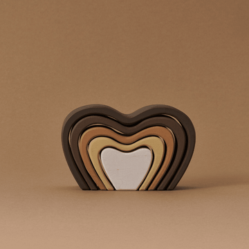 Diversity Wooden Heart Arch Stacker