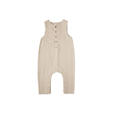 Rylee and cru bottom jumpsuit almond stripe