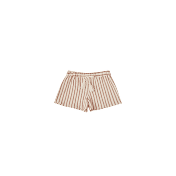 Rylee + Cru Striped Solana Short, Natural/Amber