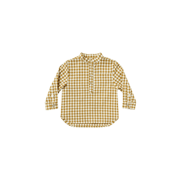 Mason Shirt, Goldenrod Gingham