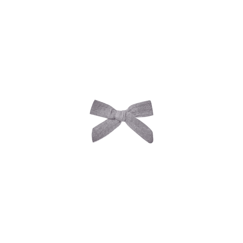 Bow with Clip, Periwinkle