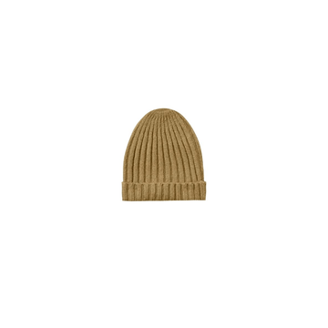 honeycomb sweater knit beanie, goldenrod