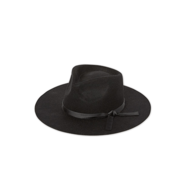 rancher hat, vintage black