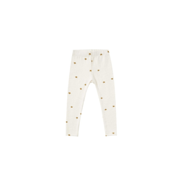 star knit legging, ivory