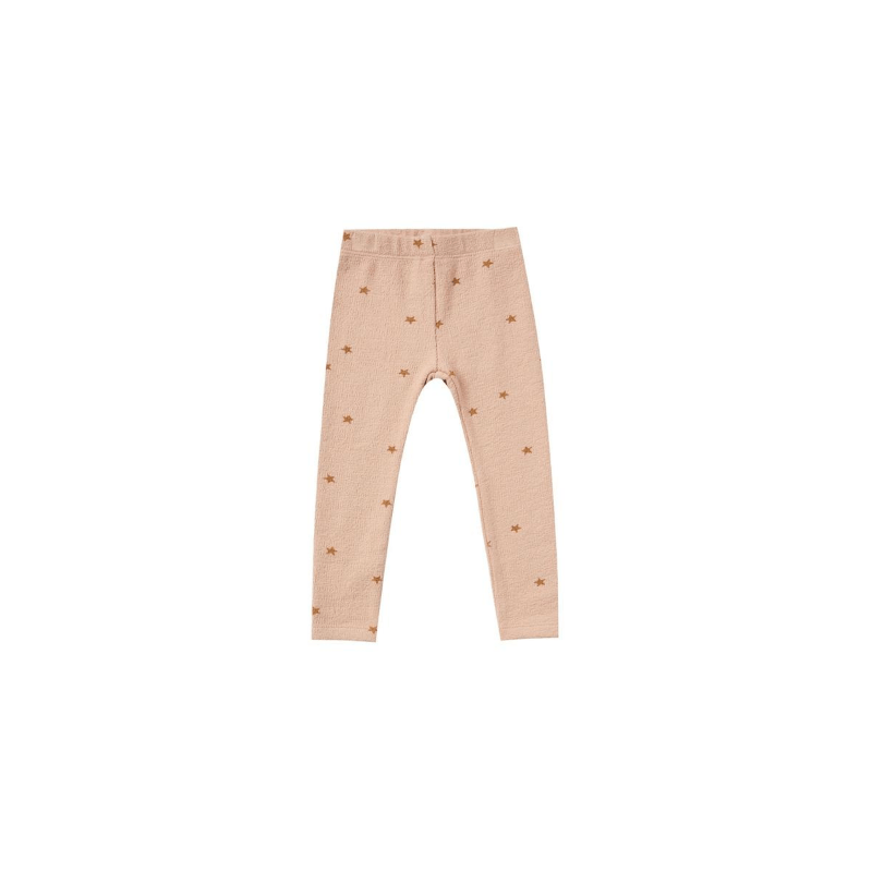 star knit legging, rose