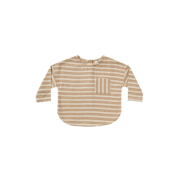 striped jack shirt, cinnamon