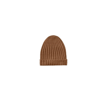 honeycomb sweater knit beanie, cinnamon