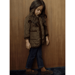 sweven como quilting jacket in brown