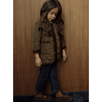 sweven como quilting jacket in brown (8)