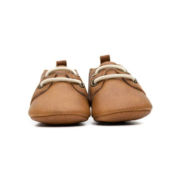 Sweet N Swag moxford in meerkat cognac for baby and toddlers slip on