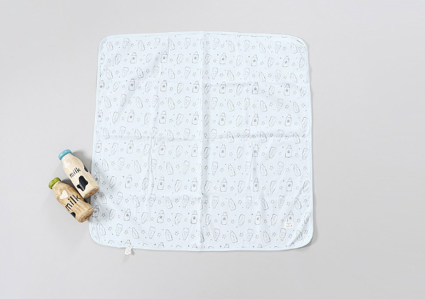 organic cotton milk blanket