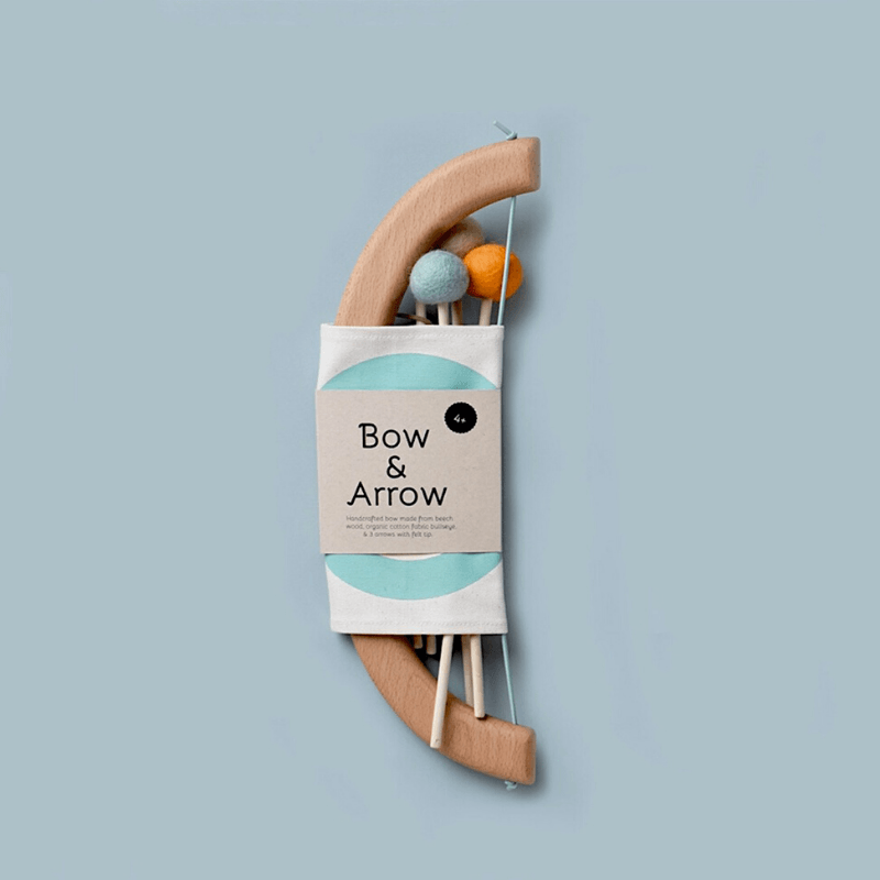 bow + arrow set, green