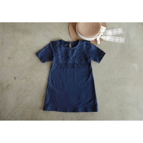 wassily dress, navy