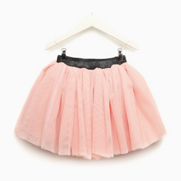 charmant tulle skirt in pink (7-8y)