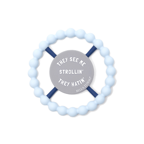 strollin' happy teether