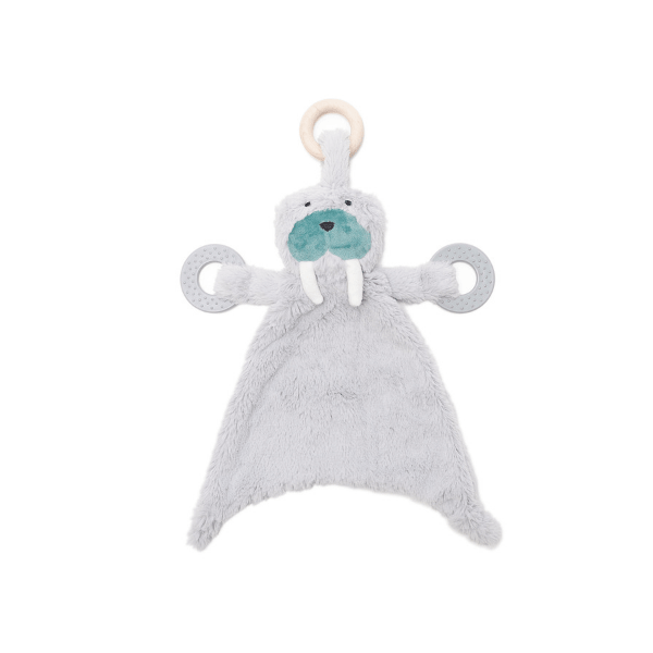 bella tunno plush winston walrus teether