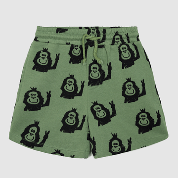 bermuda shorts, green kapi monkey