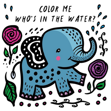 color me:  who's in the water?