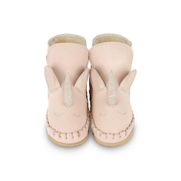 Kapi Shearling Leather Baby Boots, Unicorn