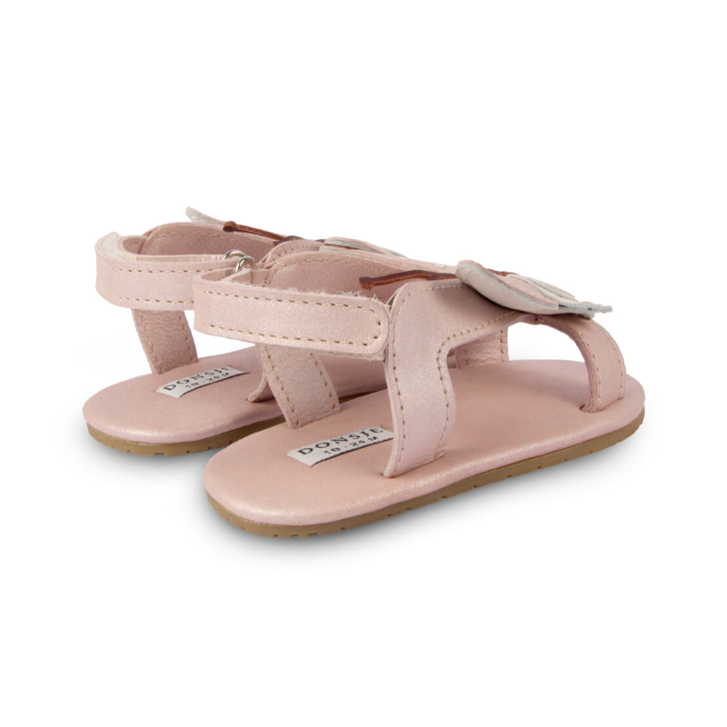 tuti leather baby sandals, butterfly