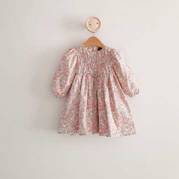 eclair smocked dress