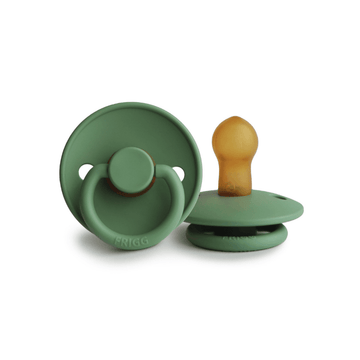 Frigg Natural Rubber Pacifier, Mineral Green