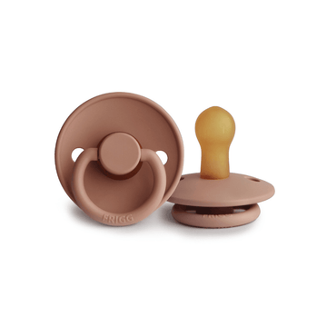 Frigg Natural Rubber Pacifier, Rose Gold