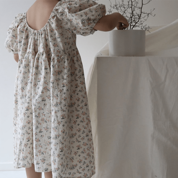 lena dress in floral