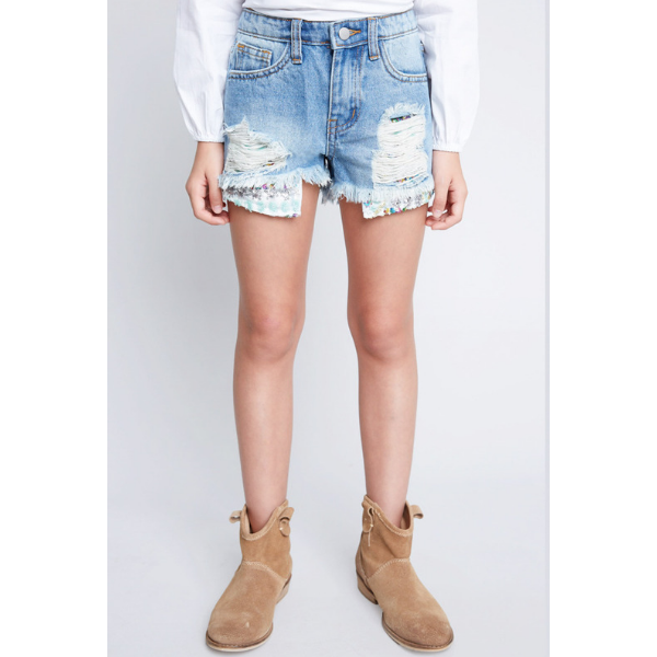 hayden distressed denim shorts with sequin pocket detail_mid denim