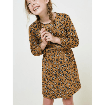 hayden leopard pocket sweater dress