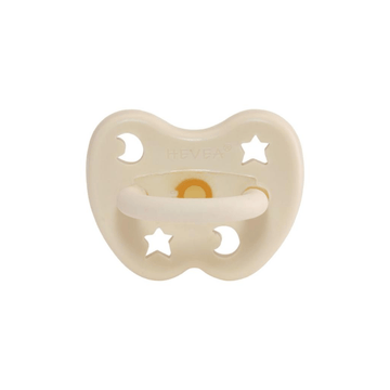 Hevea Ortho Pacifier, Milky White
