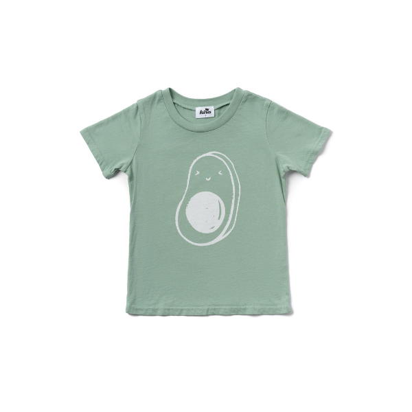 avocado babe t-shirt, green