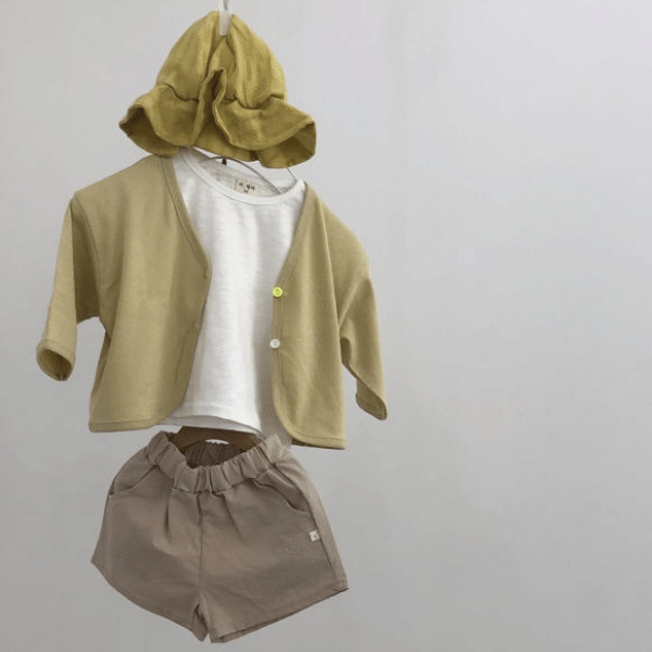 lala everyday short in beige
