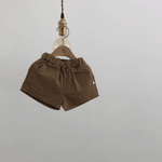 the everyday shorts in brown
