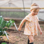 milkbarn bamboo dress + bloomer set lifestyle