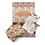 milkbarn keepsake set in orange fox
