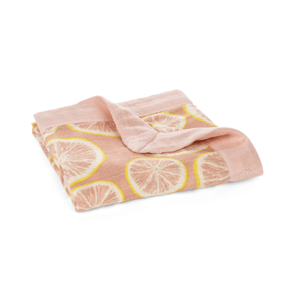 milkbarn mini lovey grapefruit soft cotton