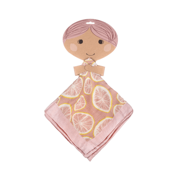 milkbarn mini lovey grapefruit with hanger